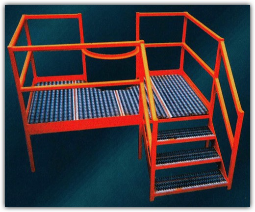 Fabricated Metal Safety Platform