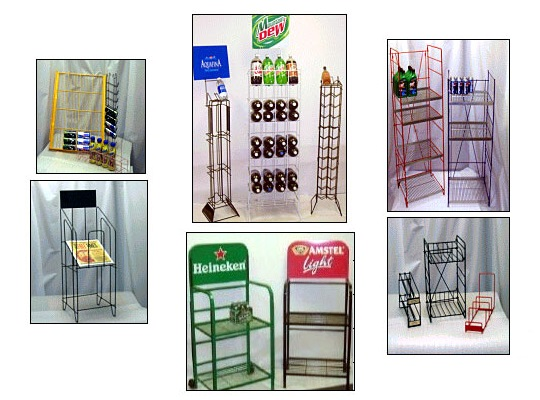 Custom Wire Formed Racks and Displays