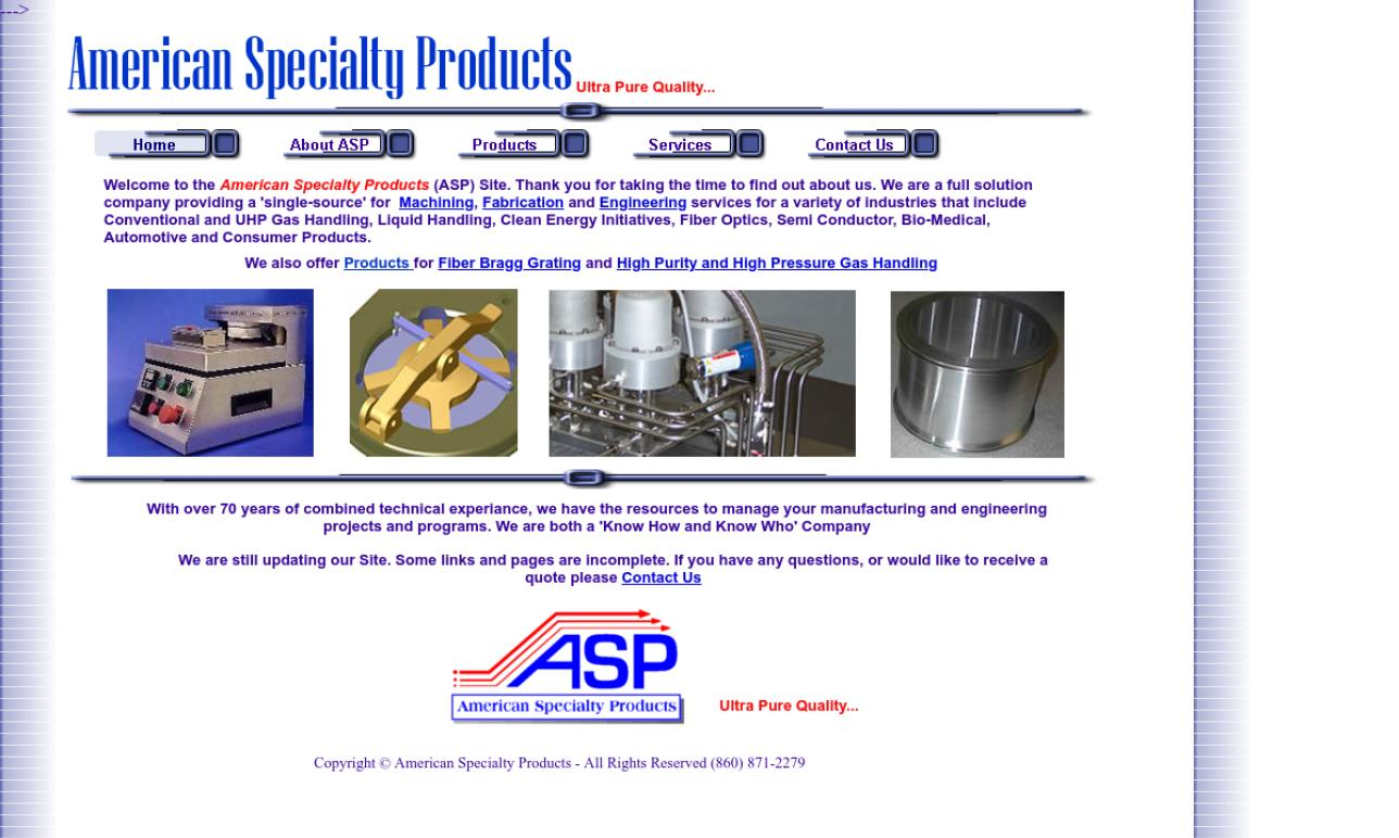 American Specialty Products