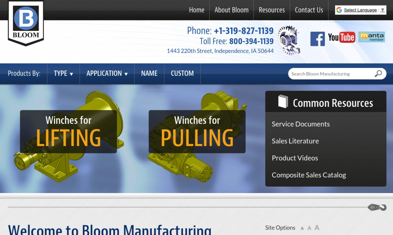 Bloom Manufacturing Incorporated