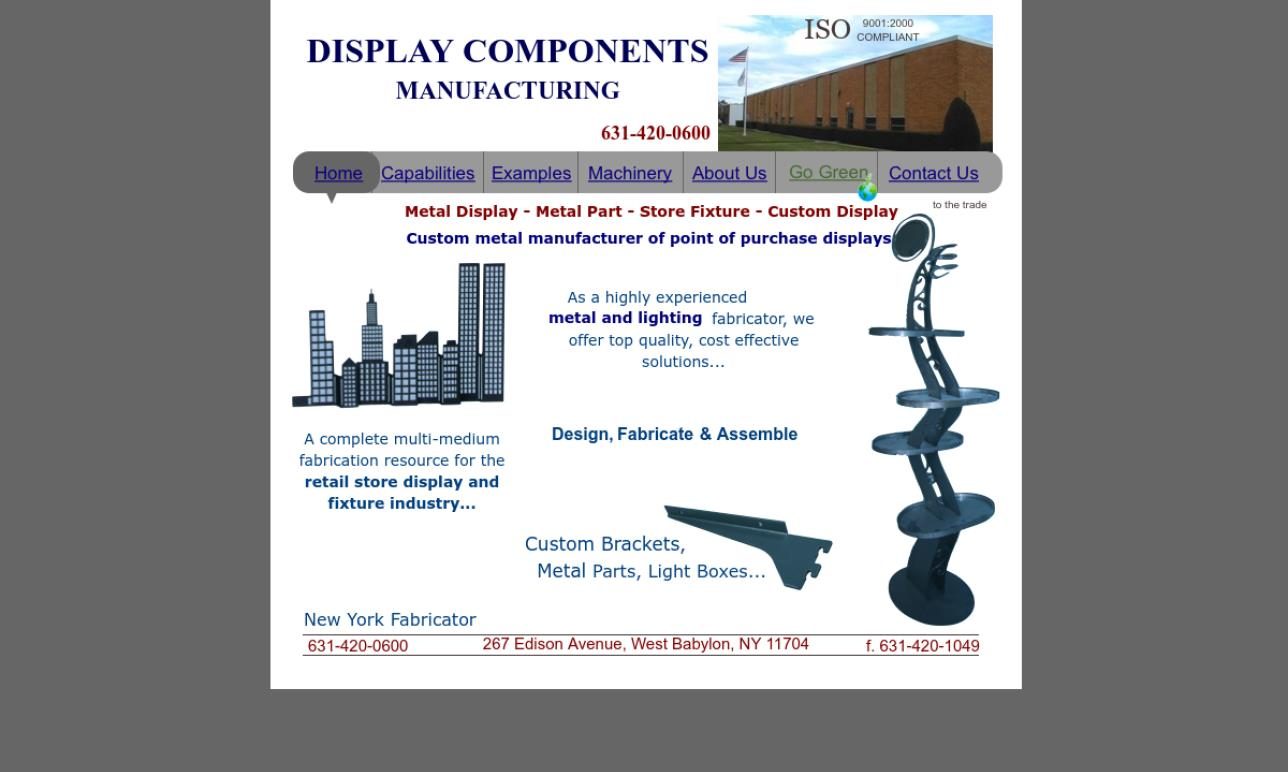 Display Components Manufacturing