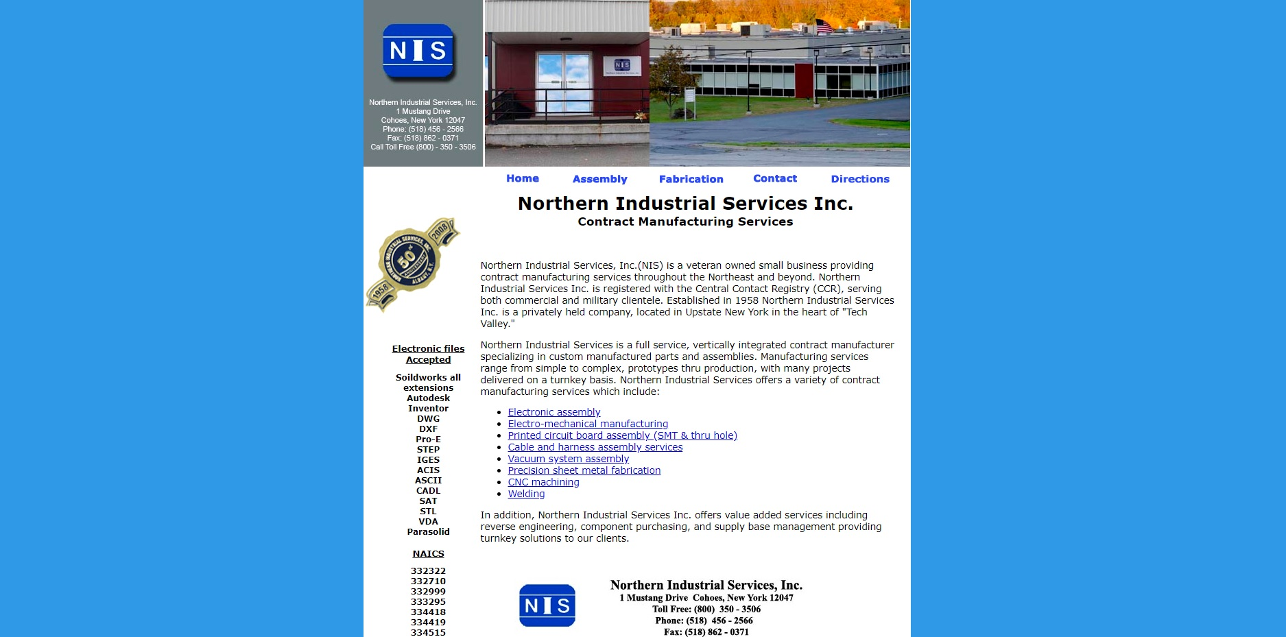 Northern Industrial Services, Inc.